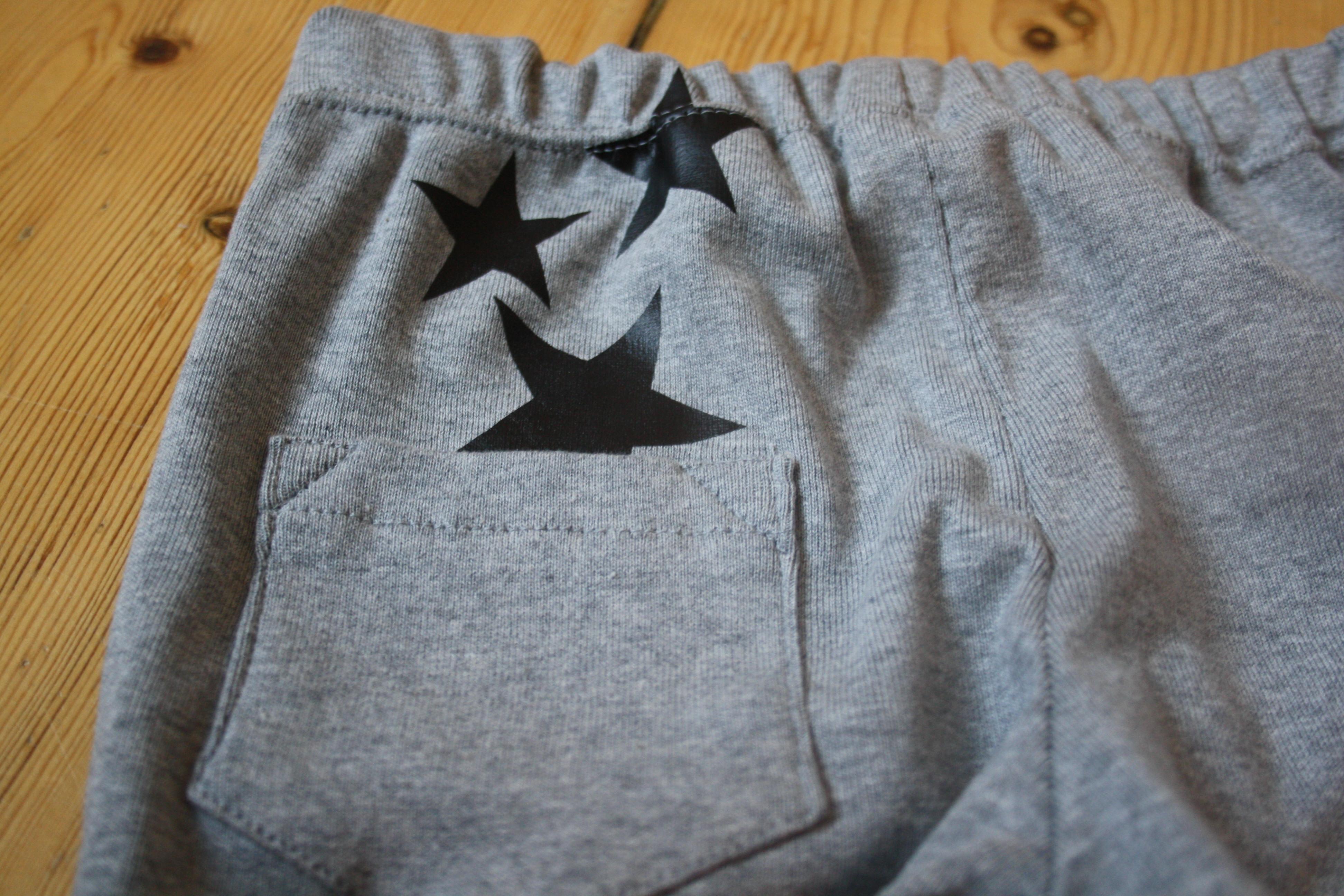 Sy til din baby Bukser med stjerner