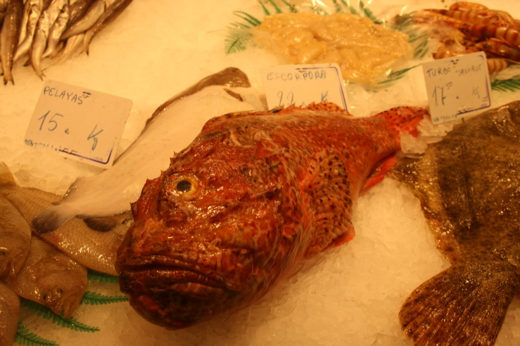 Fisk i La Bocqueria