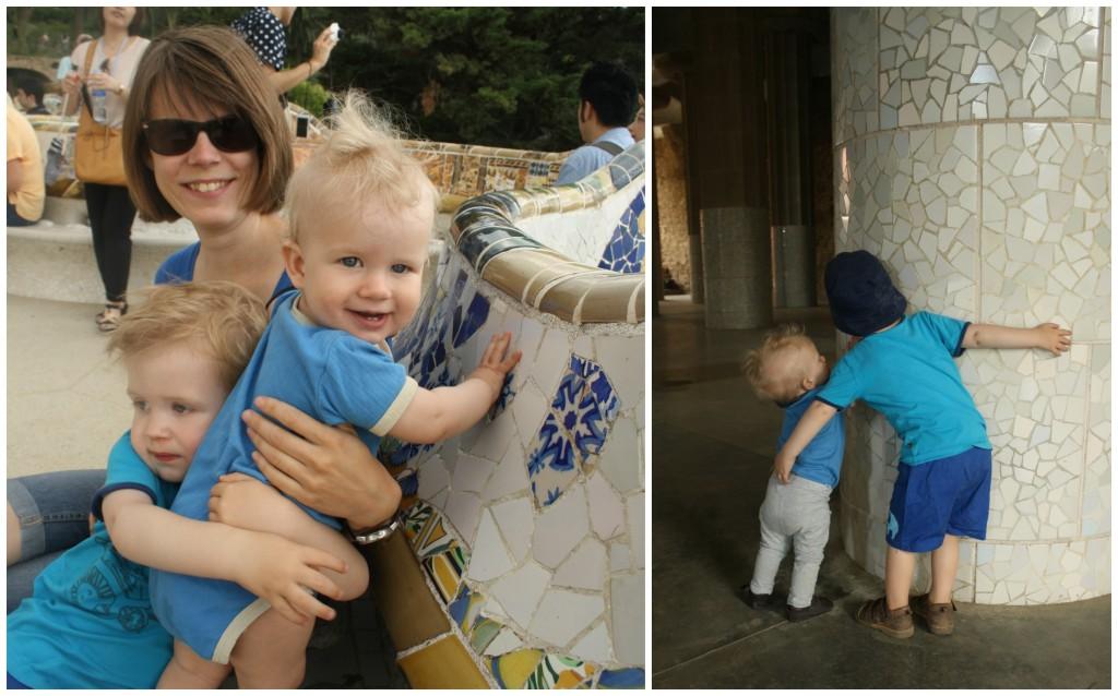 Barcelona med børn