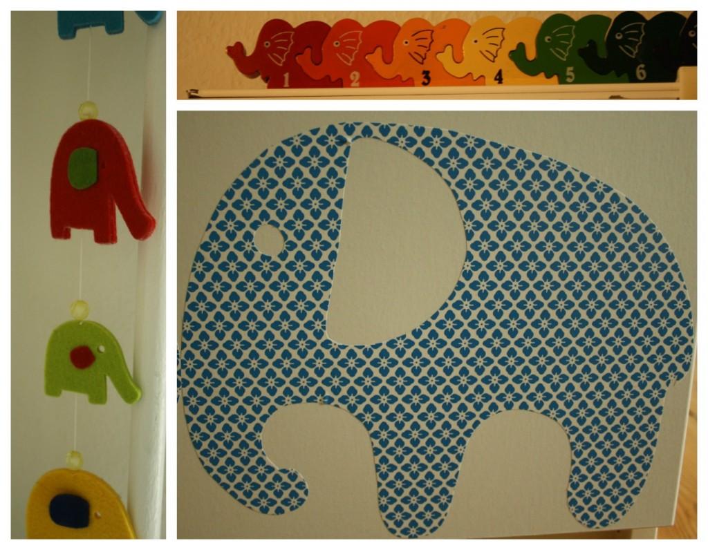 elefanter Collage