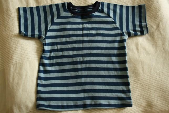 Stribet t-shirt til Asger