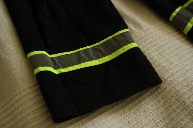 Udklædning brandmand reflekser