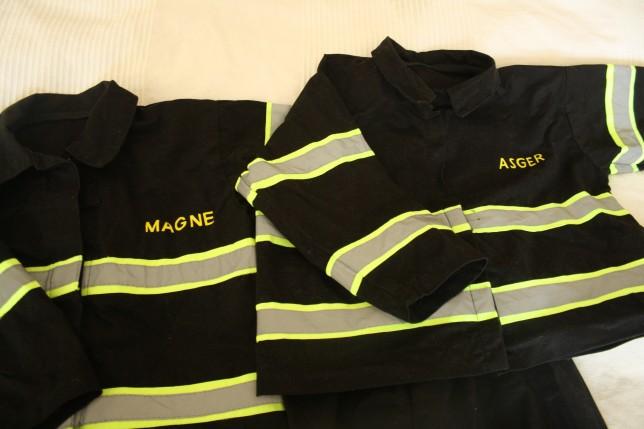 Udklædning brandmand sy selv kostumer