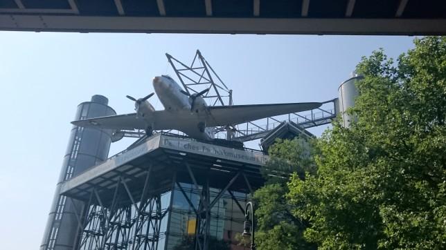 Indgang til teknik museum berlin