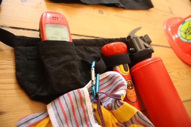 Brandmandsbælte sy selv legetøj