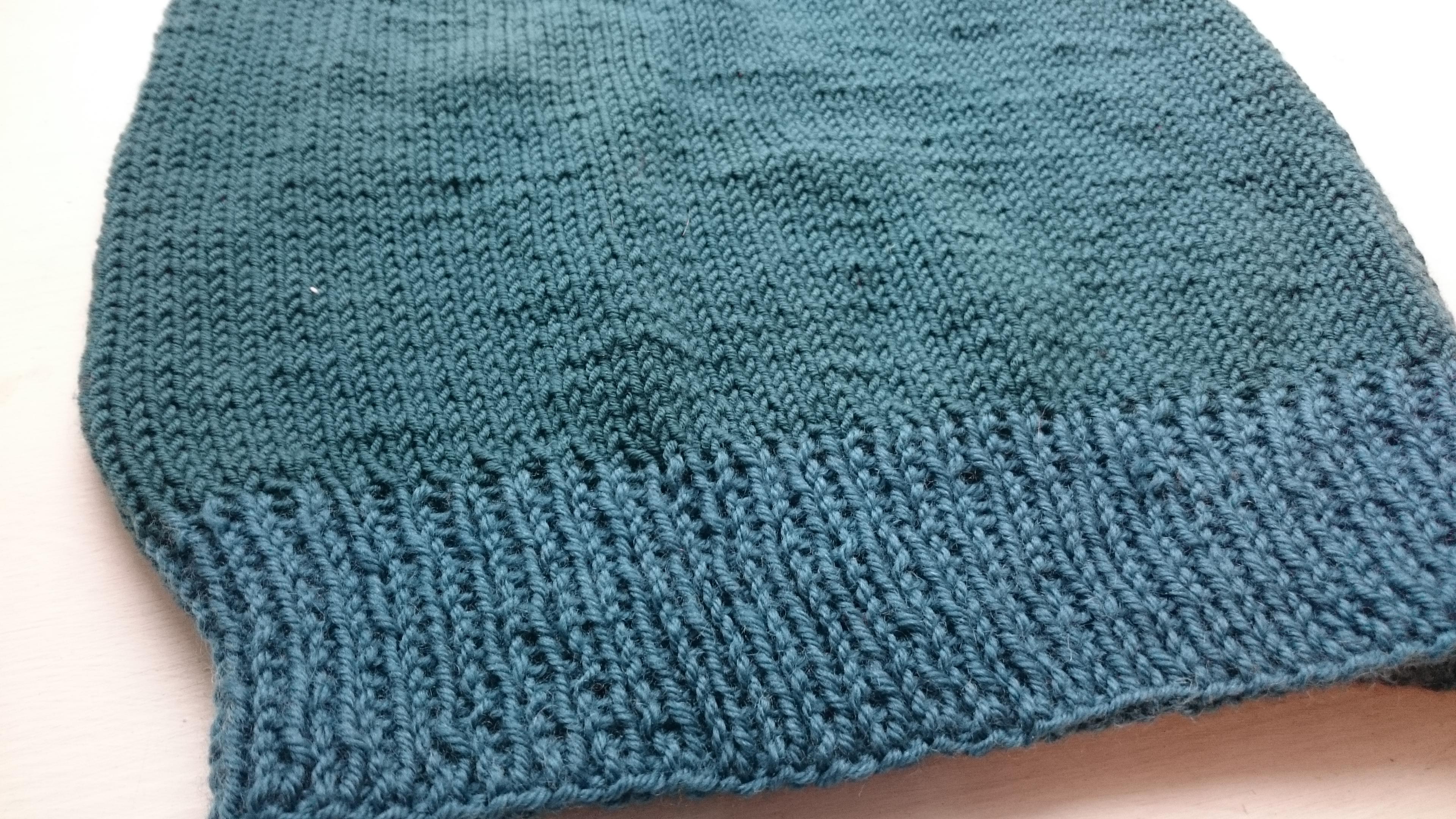 strikket vest pige