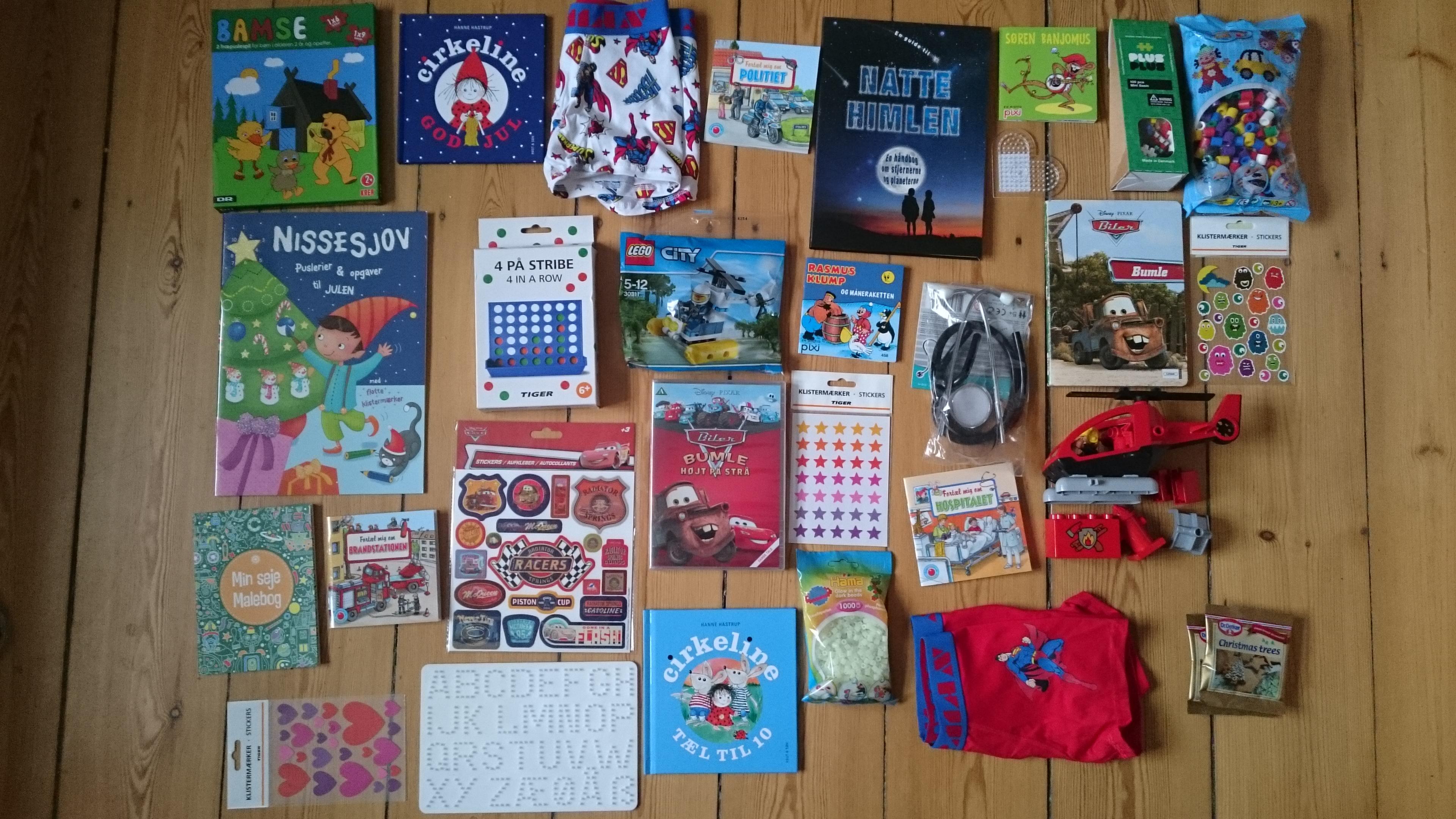 kalendergaver til store børn