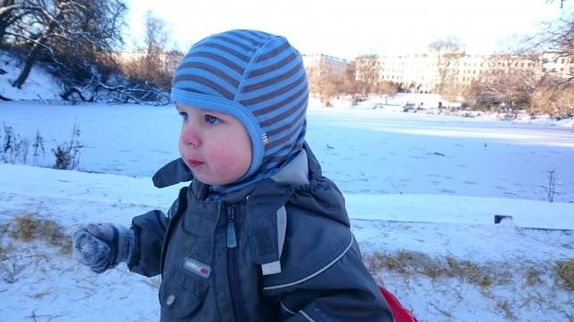 Asger i sneen
