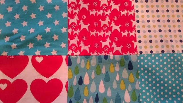 patchwork firkanter