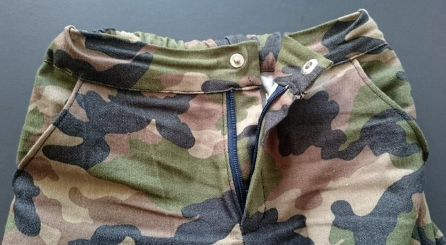 cargobukser-camoflage-lining