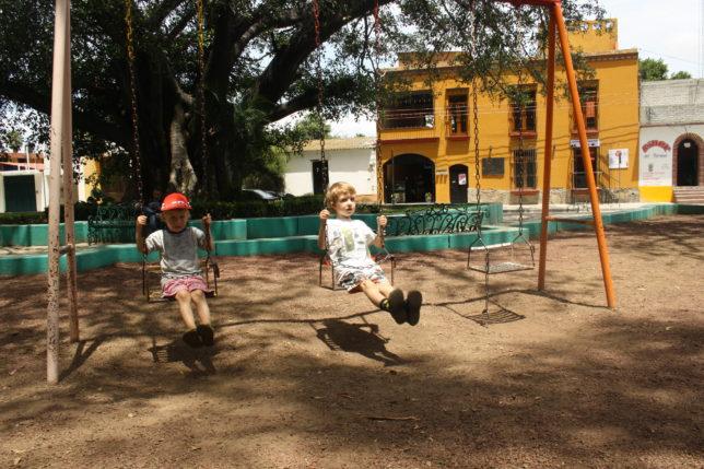 Mexico med børn